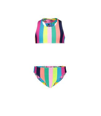 Just Beach Girls tropical reversible bikini J102-5023
