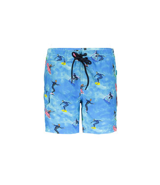 Just Beach Boys long swimshort with ao J102-6021 188 surfers