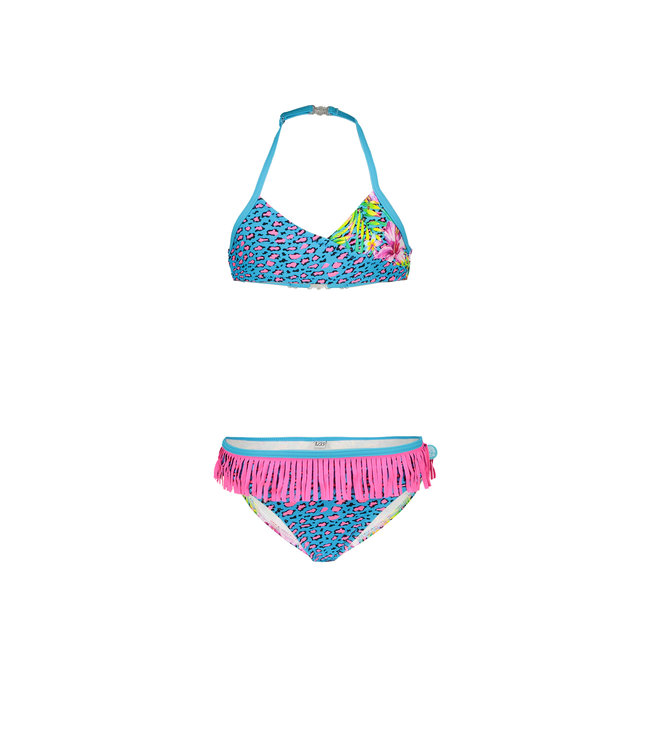 Just Beach Girls wrap bikini with ao J102-5013