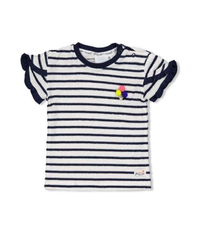 Feetje T-shirt streep - Sweet Gelato 51700627