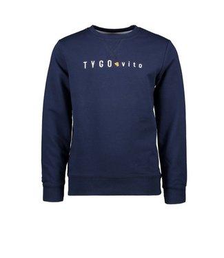 Tygo & Vito T&v sweater TYGO & vito embro navy X102-6320 190