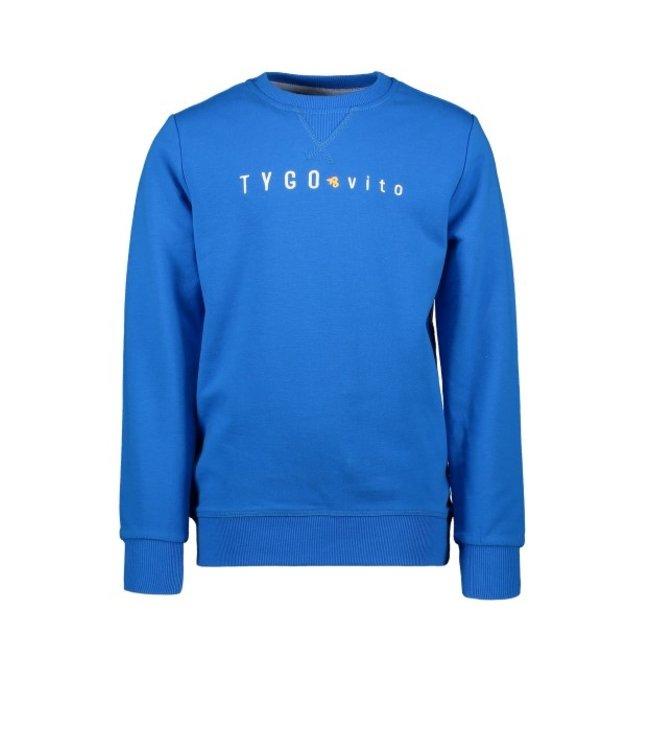 Tygo & Vito T&v sweater TYGO & vito embro  Sky Blue  X102-6320 135
