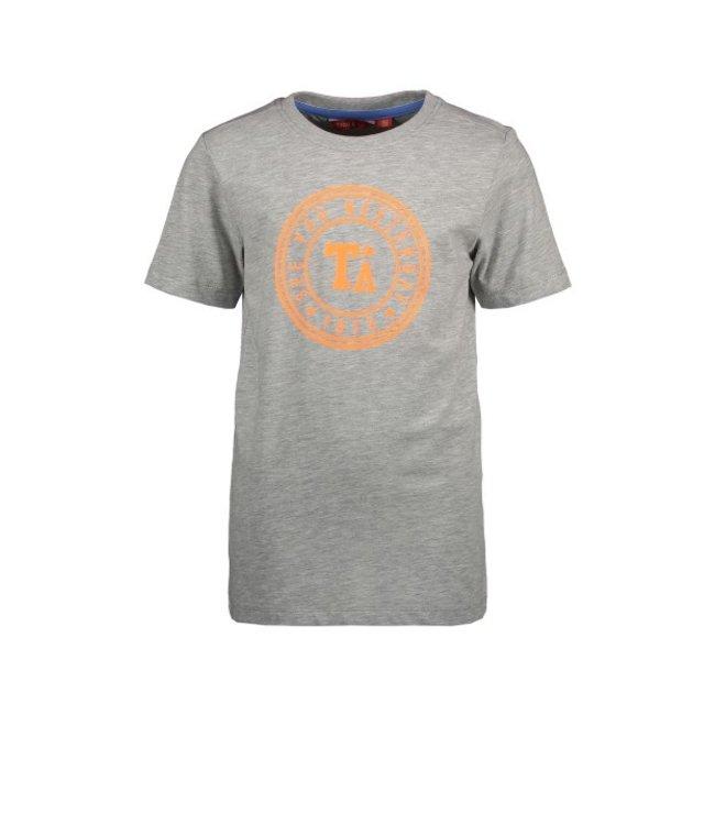 Tygo & Vito T&v T-shirt round logo print X102-6411