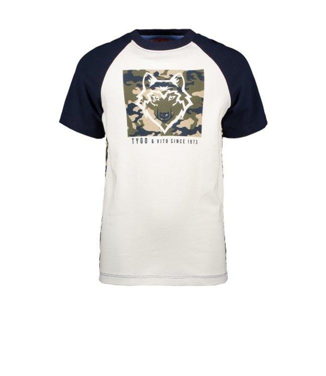 Tygo & Vito T&v T-shirt WOLF CAMOU X102-6427
