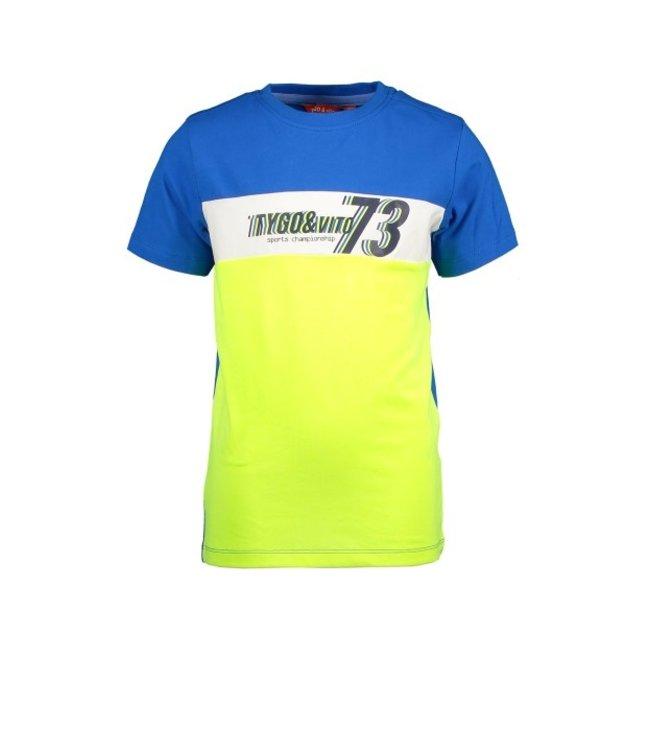 Tygo & Vito T&v T-shirt colourblock TV73 X102-6429