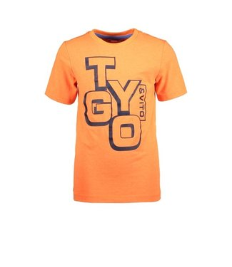 Tygo & Vito T&v neon T-shirt LOGO shocking orange X102-6423 565