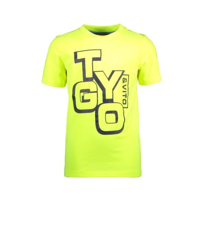 Tygo & Vito T&v neon T-shirt LOGO safety yellow X102-6423 540