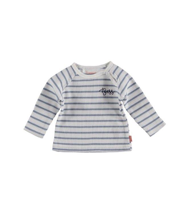 Bess Bess Sweater l. sl. Striped 21013-001