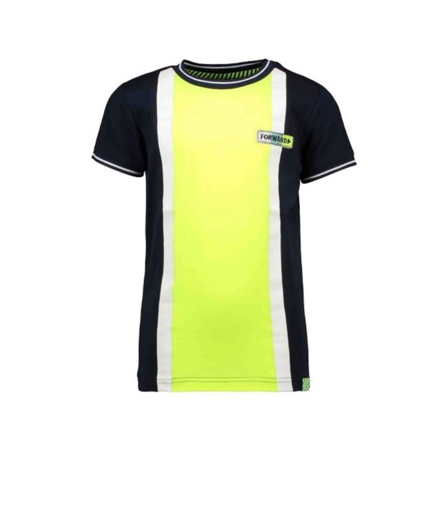 B.Nosy Boys short sleeve with big vertical contrast parts Y102-6437