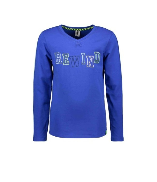 B.Nosy Boys long sleeve with v-neck, tape on sleeves Y102-6435