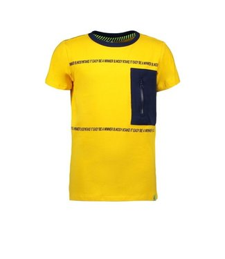 B.Nosy Boys short sleeve t-shirt with contrast zipper pocket Y102-6410
