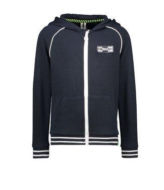 B.Nosy Boys hooded cardigan with zipper print on backside Y102-6330