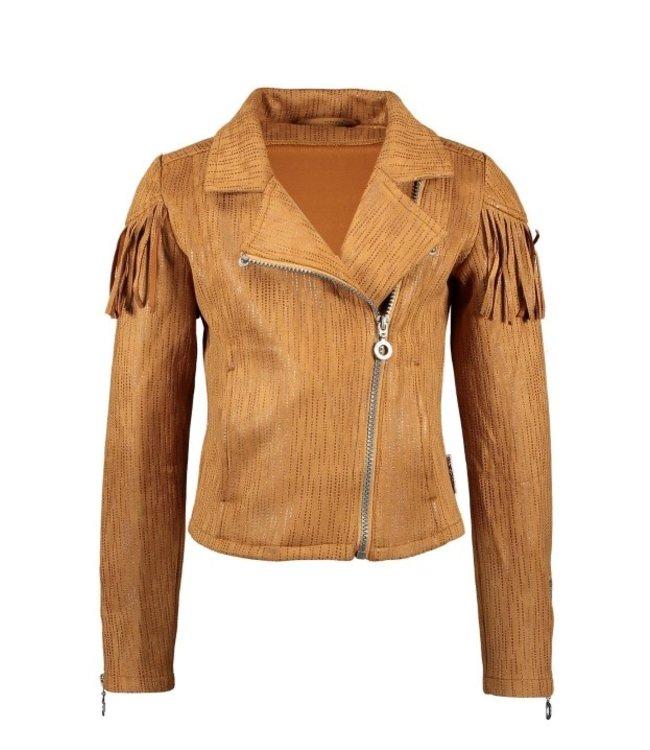 B.Nosy Girls suede bikerjacket Y102-5342