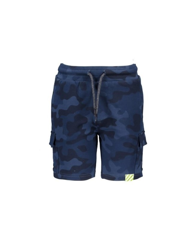 B.Nosy Boys aop camo sweat shorts Space blue camo Y102-6610
