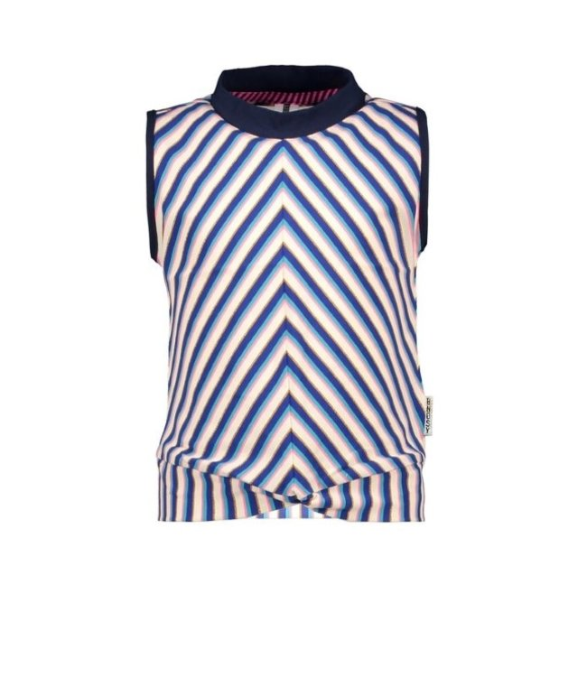 B.Nosy Girls sleeveless YDS top with coll Y102-5445