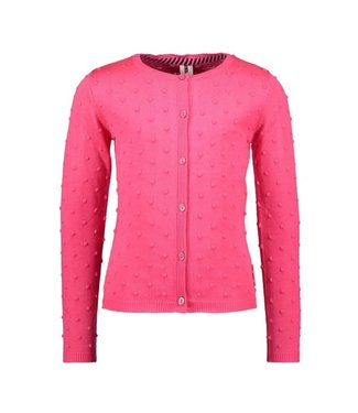 B.Nosy Girls fine jaquard knitted cardigan with button closure Y102-5340