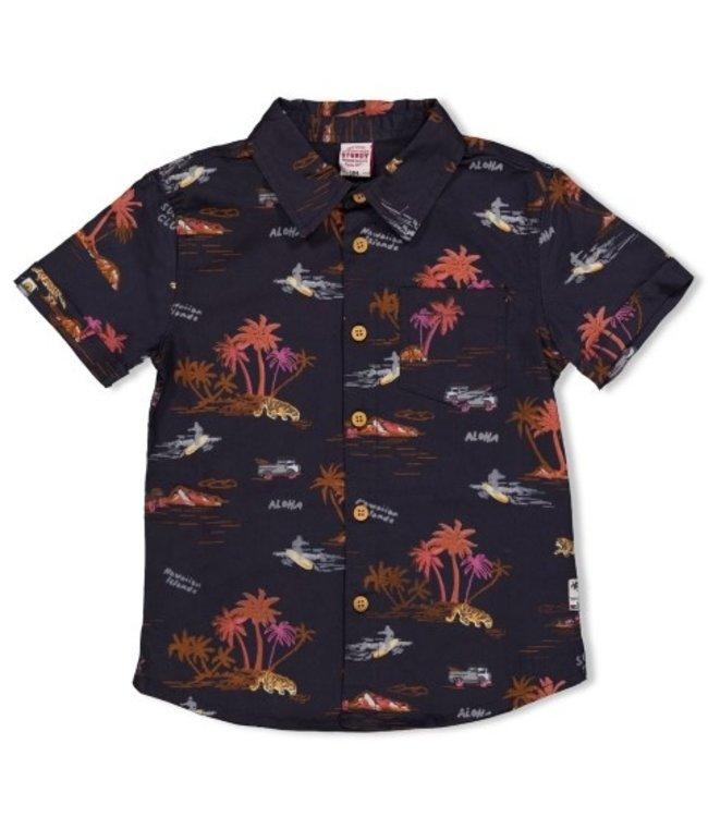 Sturdy Sturdy Overhemd k/m - Happy Camper 72400006