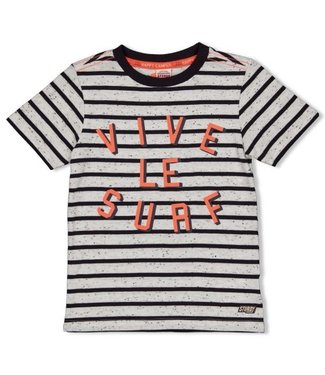 Sturdy Sturdy T-shirt streep - Happy Camper 71700311