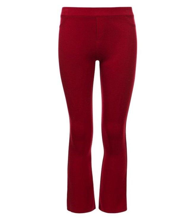 LOOXS 10Sixteen Interlock Flare pants CHILI 2112-5645