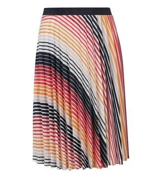 LOOXS 10Sixteen pleated skirt GRADIENT STRIPE 2112-5769