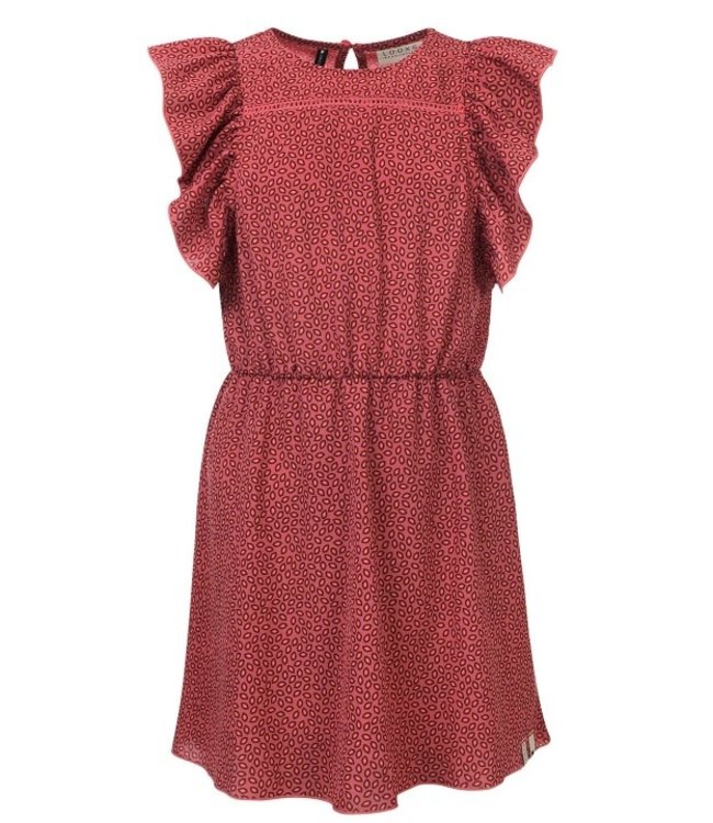 LOOXS 10Sixteen printed dress Blush 2112-5851