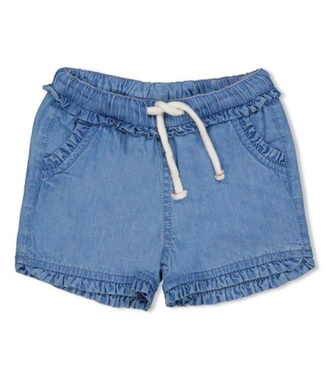 Feetje Feetje short blue denim summer denims 52100263