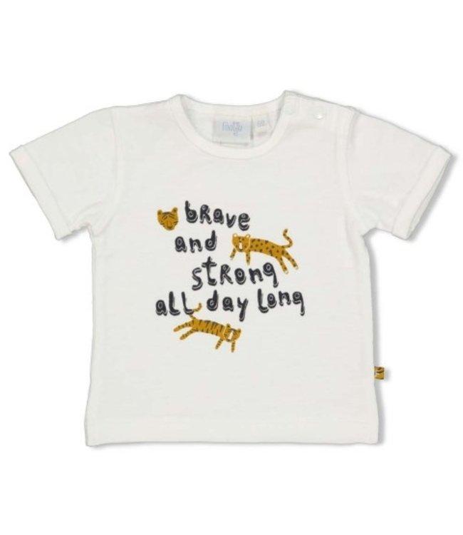 Feetje T-shirt - Go Wild offwhite 51700652