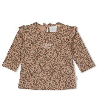 Feetje Longsleeve AOP - Panther Cutie Zand 51601705