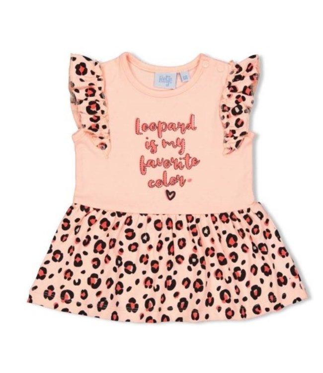Feetje Jurk My Favorite - Leopard Love 514003612