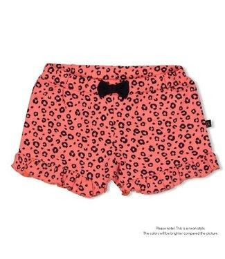 Feetje Slip - Leopard Love Neon Koraal 52100266