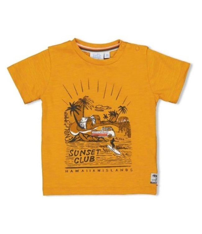Feetje T-shirt Sunset Club - Happy Camper 51700641