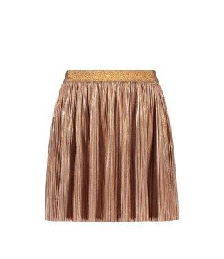 Like Flo Flo girls rose gold plisse skirt F103-5711 825