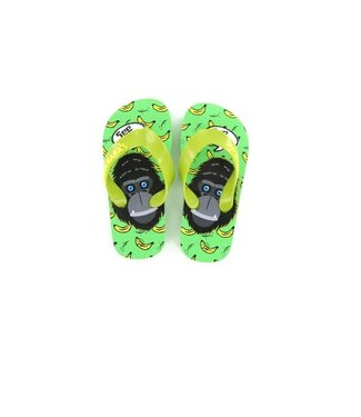 Shoesme Go Banana slipper MONKEY-SL Green