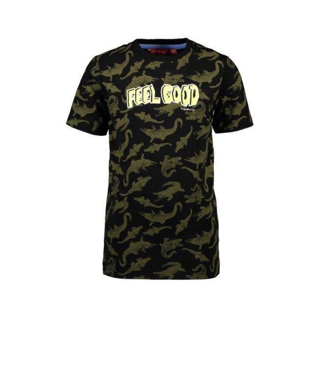 Tygo & Vito T&v T-shirt AO CRODODILE X103-6463