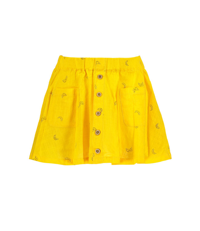 B.Nosy Girls woven skirt with bananas aop Y103-5764