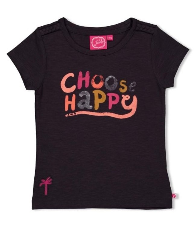 Jubel T-shirt - Whoopsie Daisy Antraciet 91700282