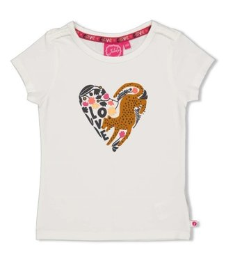 Jubel T-shirt - Whoopsie Daisy Offwhite 91700284