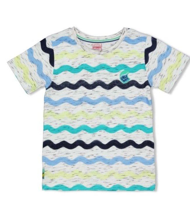 Sturdy T-shirt AOP - Smile & Wave Wit 71700322