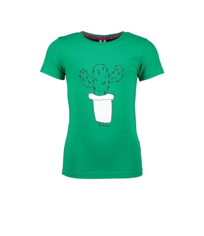 B.Nosy Girls t-shirt with cactus artwork Y103-5462