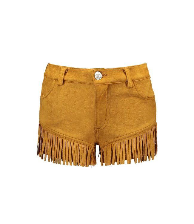 B.Nosy Girls fake suede shorts with special pleat effect Y103-5680