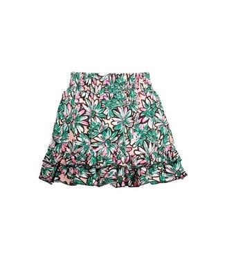 B.Nosy Girls sunny flower skirt with 2 ruffles on hem Y103-5752