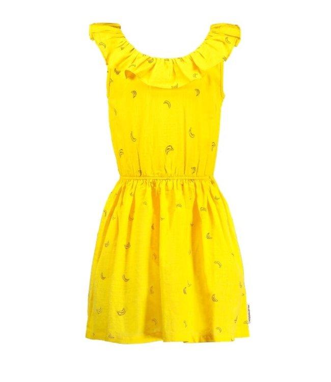 B.Nosy Girls dress with round ruffle neck Y103-5865