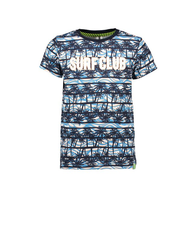 B.Nosy Boys t-shirt with palm ao and chest artwork Y103-6446