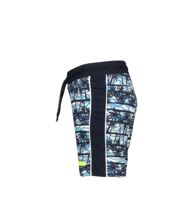 B.Nosy Boys shorts with palm ao and tape on sideseams Y103-6640