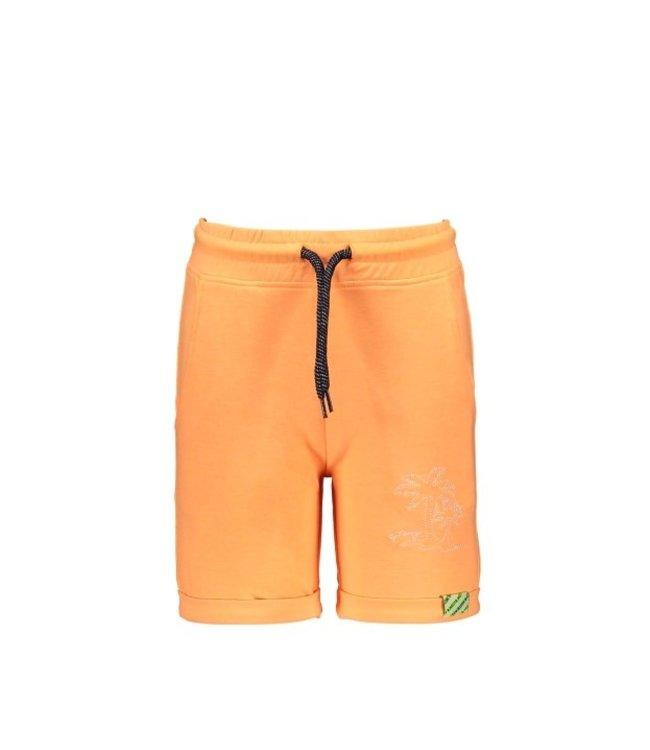 B.Nosy Boys uni shorts with smocked wb Neon orange Y103-6641