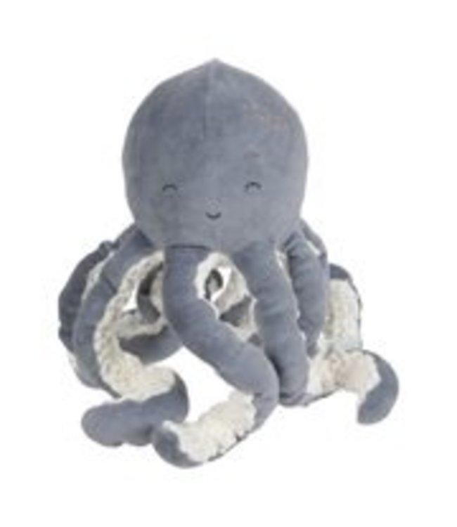 Little Dutch Little Dutch Knuffel Octopus Ocean Blue  LD4804