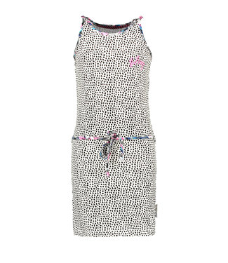B.Nosy Girls dress with belt and embroidery on chest Y104-5891