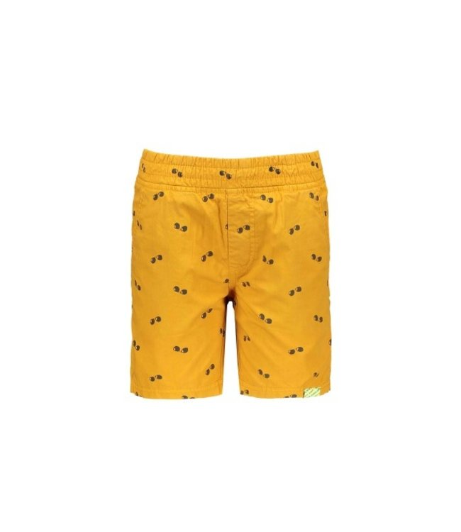 B.Nosy Boys ao poplin shorts Melee print mustard Y104-6650 512