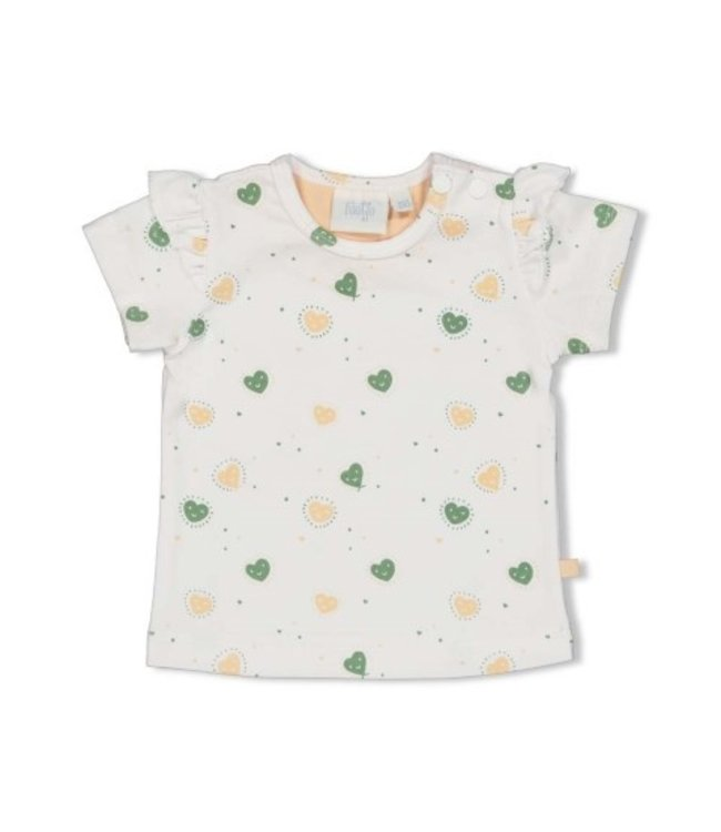 Feetje T-shirt AOP - Hearts