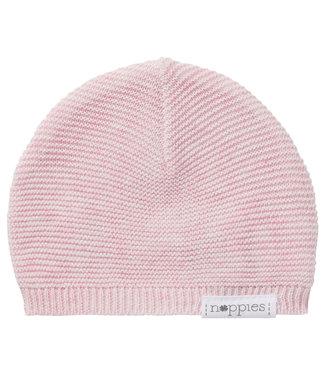 Noppies Noppies hat knit rosita light rose melange 67406 p799
